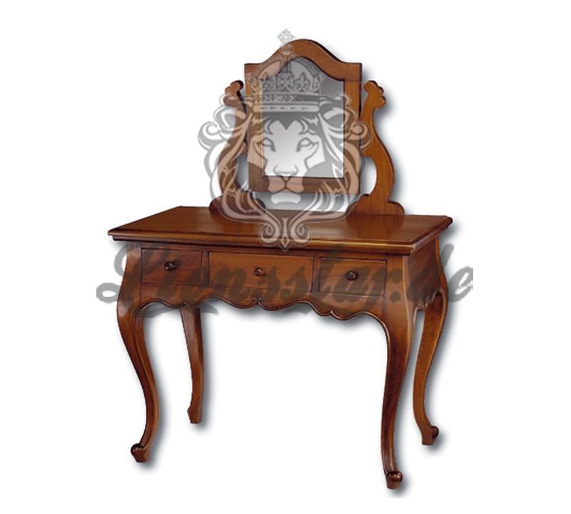 Spiegelkommode Barock Mahagoni Holz Sk.204