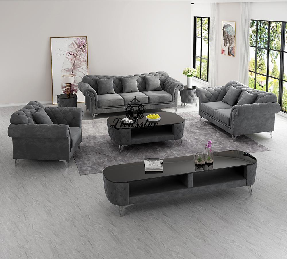 Luxus Designer Sofa Set Memphis
