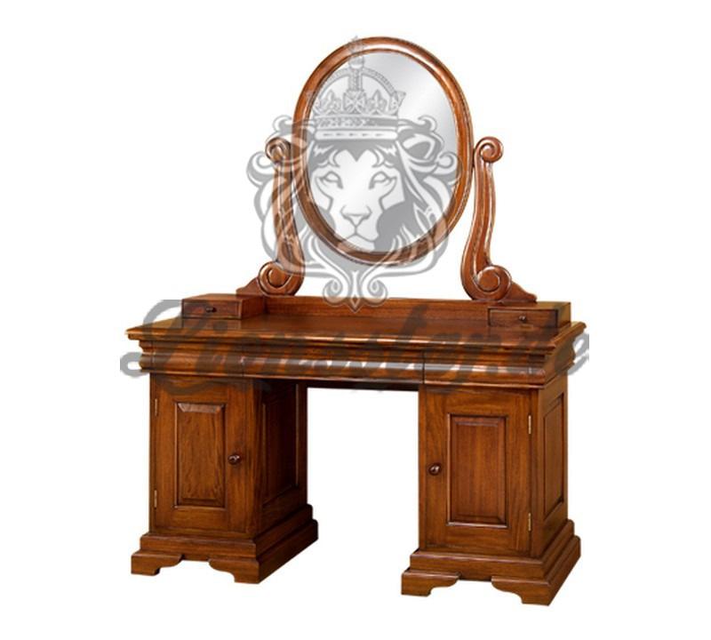 Spiegelkommode Barock Mahagoni Holz Sk.196