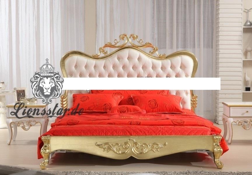 Luxus Bett Barock