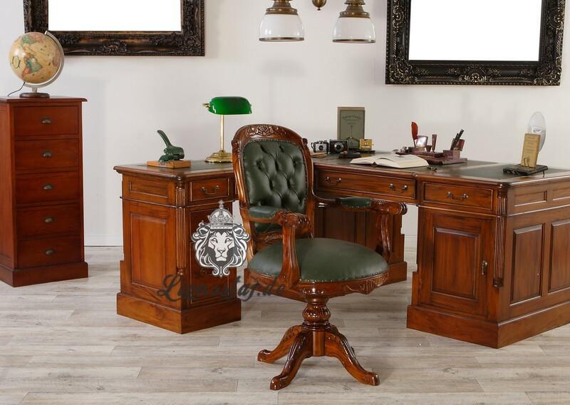 Bürostuhl im Barockstil