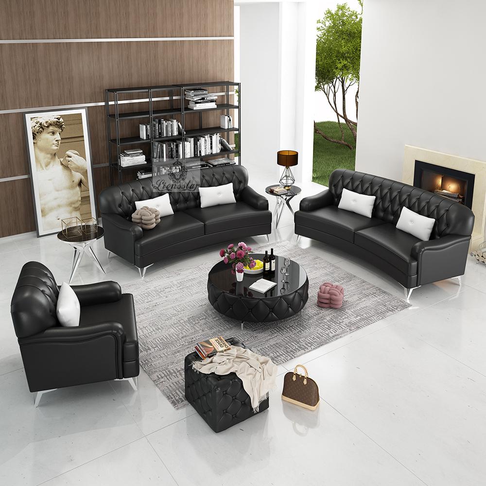 Edel Designer Sofa Set Lounge Curvy