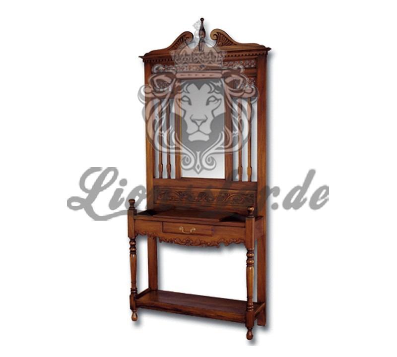 Spiegelkommode Barock Mahagoni Holz Sk.181